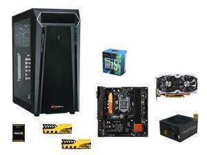 Rosewill Blizzcon Combo: Intel Core i5-6600 Skylake Quad-Core 3.3GHz, ASRock H170 Pro4 mATX, GeIL EVO 8GB DDR4 2133, RSOEWILL ...