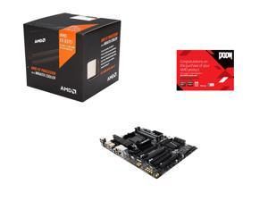 AMD FX-8370 4.0GHz 8-Core with Cooler, GIGABYTE AM3+/AM3 AMD 990FX, AMD Gifts