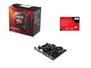AMD FX-8320 Vishera 8-Core 3.5 GHz, GIGABYTE AM3+/AM3 AMD 990FX, AMD Gifts