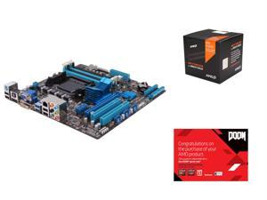 AMD FX-8370 4.0GHz 8-Core with Cooler, ASUS M5A78L-M/USB3 AM3+ AMD 760G + SB710, AMD Gifts