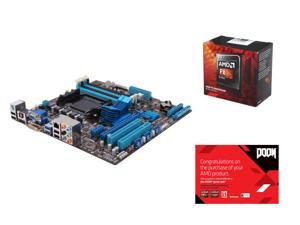 AMD FX-8350 Black Edition Vishera 8-Core 4.0 GHz, ASUS M5A78L-M/USB3 AM3+ AMD 760G + SB710, AMD Gifts