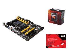 AMD FX-8350 Black Edition Vishera 8-Core 4.0 GHz, BIOSTAR TA970 Ver. 5.3 AM3+ AMD 970 + SB950, AMD Gifts