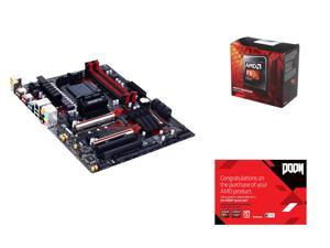 AMD FX-8320 Vishera 8-Core 3.5 GHz, GIGABYTE GA-970-Gaming SLI (rev. 1.0) AM3+/AM3 AMD 970, AMD Gifts