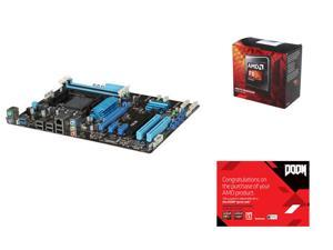AMD FX-8320 Vishera 8-Core 3.5 GHz, ASUS M5A97 LE R2.0 AM3+ AMD 970 + SB950, AMD Gifts