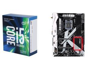 New Intel Bundle: Intel Core i5-7600K Kaby Lake Quad-Core 3.8 GHz LGA 1151 CPU, ASRock Z270 KILLER SLI/AC Intel Z270 MB