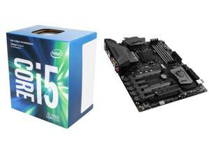 New Intel Bundle: Intel Core i5-7600 Kaby Lake Quad-Core 3.5 GHz LGA 1151 CPU, MSI Z270 GAMING M5 LGA 1151 Intel Z270 ATX ...