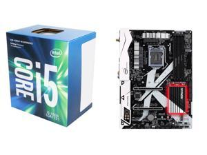 New Intel Bundle: Intel Core i5-7600 Kaby Lake Quad-Core 3.5 GHz LGA 1151 CPU, ASRock Z270 KILLER SLI/AC Intel Z270 MB