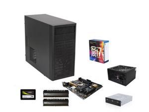 Intel Core i7-7700K Kabylake Quad-Core 4.2 GHz, ASUS Z170M-PLUS MOBO, Avexir Core 8GB DDR4 2400, Fractal Design Core 1000 ...