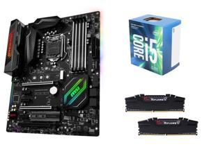 Intel Kaby Lake Upgrade Bundle: Intel Core i5-7400 Kaby Lake Quad-Core 3.0 GHz, MSI Z270 GAMING PRO CARBON LGA 1151 ...
