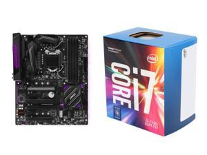 MSI H270 GAMING PRO CARBON LGA 1151 Intel H270 HDMI SATA 6Gb/s USB 3.1 ATX Motherboards - Intel, Intel Core i7-7700 Kaby ...