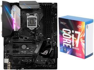 Intel Core i7-7700K Kaby Lake Quad-Core 4.2 GHz LGA 1151 Desktop Processor CPU, ASUS ROG STRIX Z270E GAMING LGA 1151 DDR4 ...