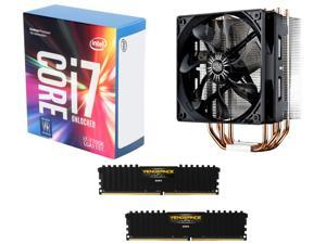 Intel Core i7-7700K Kaby Lake Quad-Core 4.2 GHz LGA 1151 Desktop Processor CPU, CORSAIR Vengeance LPX 16GB (2 x 8GB) DDR4 ...