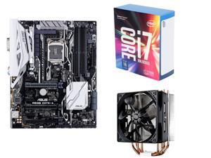 Intel Core i7-7700K Kaby Lake Quad-Core 4.2 GHz LGA 1151 Desktop Processor, ASUS PRIME Z270-A LGA 1151 Intel Z270 HDMI SATA ...