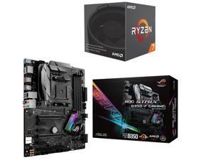 AMD RYZEN 7 1700 8-Core 3.0 GHz (3.7 GHz Turbo) Socket AM4 65W YD1700BBAEBOX Desktop Processor, ASUS ROG STRIX B350-F GAMING ...