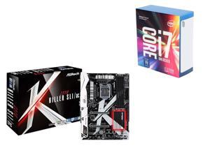 Intel Core i7-7700 4.2 GHz LGA Kaby Lake Quad-Core Processor + ASRock Z270 SATA 6Gb/s USB 3.1 ATX Motherboards + Intel Gift