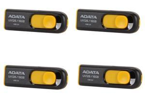4-Pack ADATA DashDrive UV128 16GB USB 3.0 Flash Drive