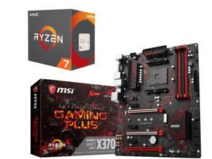 AMD RYZEN 7 1700X 8-Core 3.4 GHz Socket AM4 Desktop Processor + MSI X370 ATX Motherboard + Gift for select AMD + MSI X370 Motherboard