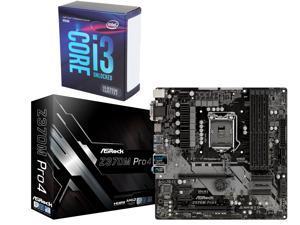Intel Core i3-8350K 4.0 GHz LGA 1151 (300 Series) BX80684I38350K Desktop Processor, ASRock Z370M Pro4 LGA 1151 (300 Series) ...
