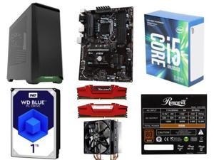 CPU INTEL | CORE I5 7600K 3.8G 6M, MB MSI | Z270-A PRO RTL, MEM 2*8G|GSK F4-2400C15D-16GVR RT, HD 1T | WD WD10EZEX %, CASE ...