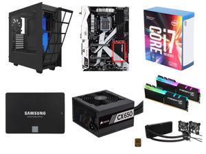 Intel Core i7-7700K Kaby Lake Quad-Core 4.2 GHz, ASRock Z270 KILLER SLI/AC LGA 1151 Intel Z270 MB, G.SKILL TridentZ RGB Series ...