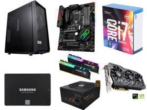Intel Core i7-7700K Kaby Lake Quad-Core 4.2 GHz, MSI Z270 GAMING PRO CARBON LGA 1151 Z270 MB, G.SKILL TridentZ RGB 16GB DDR4 ...