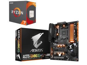 AMD RYZEN 7 1700X 8-Core 3.4 GHz (3.8 GHz Turbo) Socket AM4 95W YD170XBCAEWOF Desktop Processor, GIGABYTE GA-AX370-Gaming ...