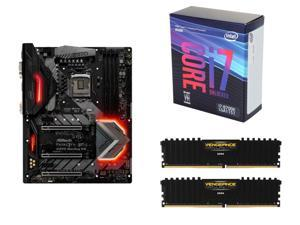 ASRock Fatal1ty Z370 Gaming K6 LGA 1151 (300 Series) Intel Z370 Motherboard, Intel Core i7-8700K Coffee Lake 6-Core 3.7 GHz ...