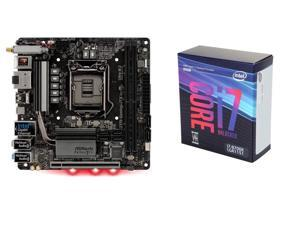 ASRock Fatal1ty Z370 Gaming-ITX/ac LGA 1151 (300 Series) Intel Z370 HDMI SATA 6Gb/s USB 3.1 Mini ITX Intel Motherboard, Intel ...