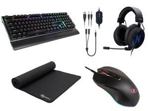 Rosewill Keyboard + Mouse Pad + Gaming Mouse + Gaming Headset