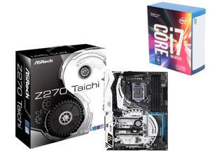 Intel Core i7-7700K 4.2 GHz LGA Kaby Lake Quad-Core Processor + ASRock Intel Z270 SATA 6Gb/s Motherboards