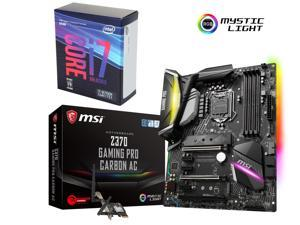 Intel Core i7-8700K 3.7 GHz 6-Core LGA 1151 Processor + MSI Z370 Gaming Motherboard