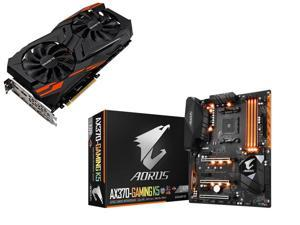 Gigabyte Radeon RX 8GB ATX Video Card + Gigabyte Motherboard