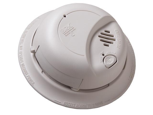 First Alert Smoke Alarm Flashing Green Light