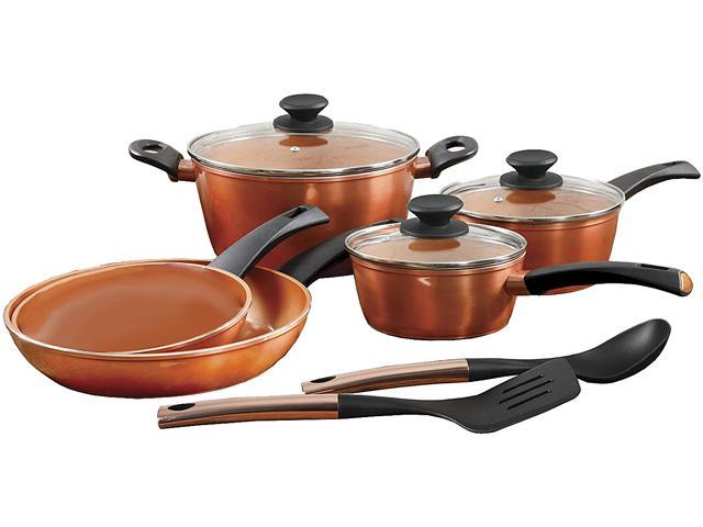 Gibson Eco-Friendly by GH Frying Pan, 10 Piece, Copper photo
