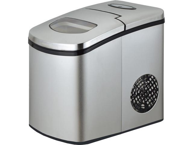 Avanti - IM12C-IS - Portable/Countertop Ice Maker, Silver, 9 3/4W x 14D x 13H photo
