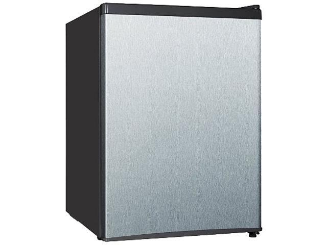 Midea WHS 87LSS1 2.4 Cubic Foot Stainless Steel Single Door Compact Refrigerator photo