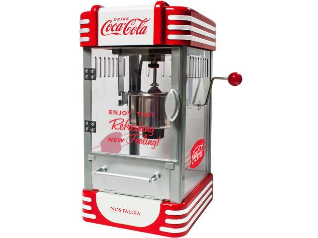 Nostalgia Electrics Coca-Cola Series Kettle Popcorn Maker photo