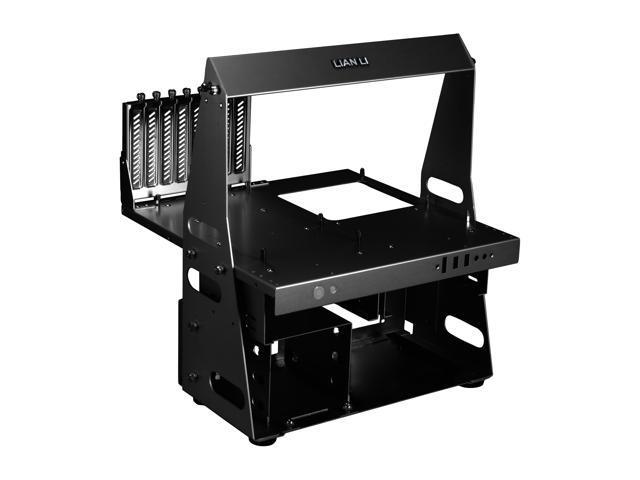 LIAN LI PC-T60B Black Aluminum ATX / Micro-ATX TEST BENCH Computer Case