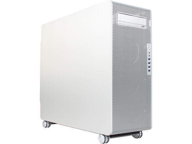 NeweggBusiness - LIAN LI PC-V1000LA Silver Aluminum ATX Full
