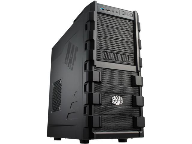 Cooler Master HAF 912 - Mid Tower Computer Case with High Airflow___ Supporting up to Six 120mm Fans and USB 3.0