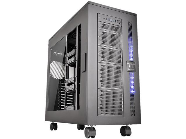 Thermaltake Core W100 Black Extreme Cooling XL-ATX Fully Modular/Dismantle Stackable Tt LCS Certified Super Tower Chassis CA-1F2-00F1WN-00