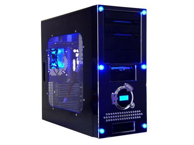 APEVIA X-Dreamer II ATXB4KLW-BK Black Computer Case