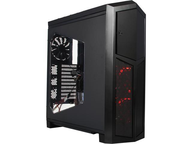 Rosewill Throne-Window - Black ATX Full Tower Gaming Computer Case - Supports E-ATX / XL-ATX Motherboards___ Supports Up to 8 Fans