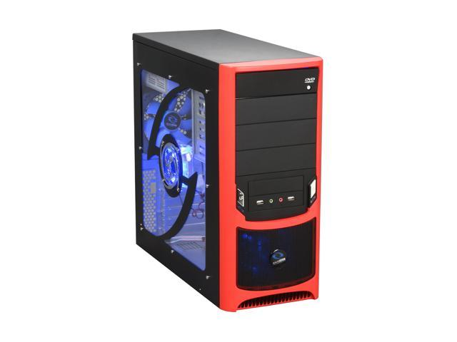 RAIDMAX Tornado ATX-238WRP Black SECC Steel ATX Mid Tower Computer Case with Raidmax RX-450K 450W Power Supply