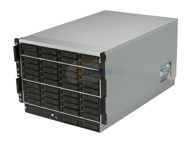 iStarUSA E8M42-18R4H Black 8U Rackmount Server Chassis - OEM