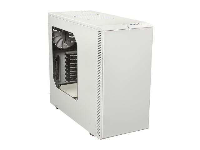 Fractal Design Define R4 with Window Arctic White Silent ATX Mid Tower Case