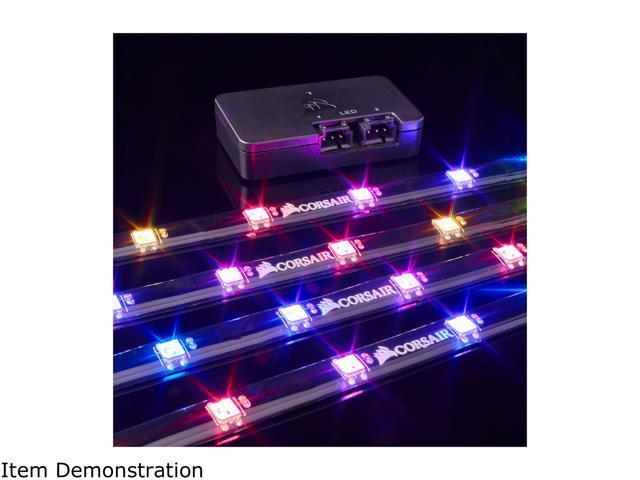 Corsair Lighting Node Pro Cl 9011109 Ww Rgb Lighting