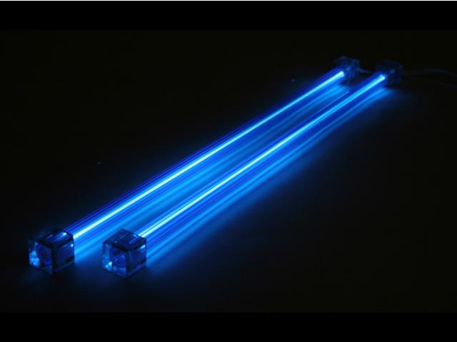Computer Light Kits : Logisys computer clk bl quot dual cold cathode kit case