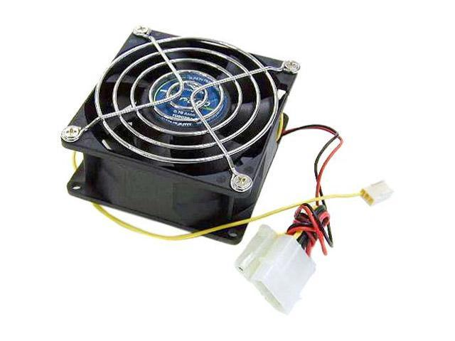 Vantec Tornado 80mm Double Ball Bearing High Air Flow Case Fan - Model TD8038H