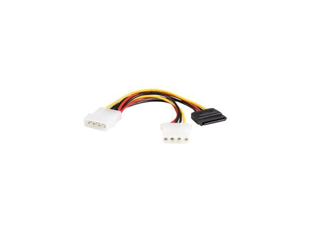 StarTech PYO1LP4SATA 6 in [152.4 mm] 6in LP4 to LP4 SATA Power Y Cable Adapter